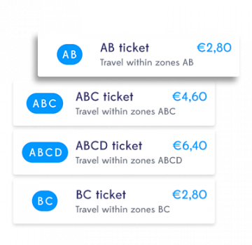 Pay for all of your travel via Whim